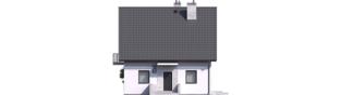 Projekt domu Dagna - elewacja frontowa