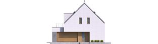 Projekt domu Adam G2 ENERGO PLUS - elewacja frontowa