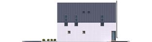 Projekt domu Adam G2 ENERGO PLUS - elewacja prawa