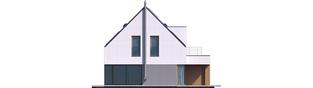 Projekt domu Adam G2 ENERGO PLUS - elewacja tylna