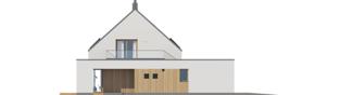 Projekt domu Malkolm II G2 ENERGO PLUS reco - elewacja lewa