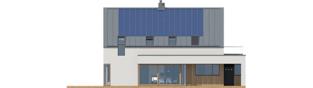 Projekt domu Malkolm II G2 ENERGO PLUS reco - elewacja tylna