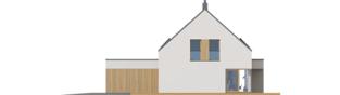Projekt domu Malkolm II G2 ENERGO PLUS reco - elewacja prawa