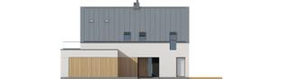 Projekt domu Malkolm II G2 ENERGO PLUS reco - elewacja frontowa