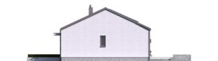 Projekt domu Mini 3 PLUS - elewacja prawa