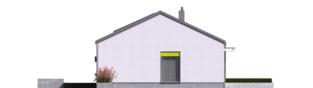 Projekt domu Mini 3 PLUS - elewacja lewa