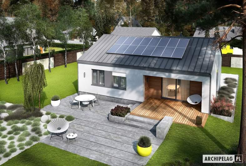 Projekt domu Mini 3 PLUS - widok z góry