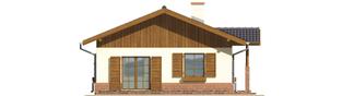 Projekt domu Nadia - elewacja lewa