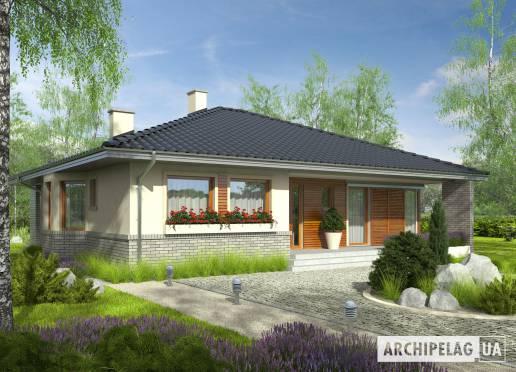 Проект будинку - Флорі II (30°)
