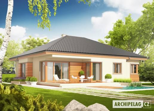 Projekt rodinného domu - Eris G2
