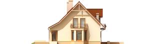 Projekt domu Blanka G1 - elewacja lewa
