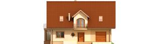 Projekt domu Blanka G1 - elewacja frontowa