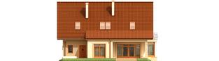 Projekt domu Blanka G1 - elewacja tylna