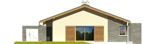 Projekt domu Bob II - elewacja lewa