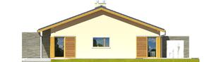 Projekt domu Bob II - elewacja prawa