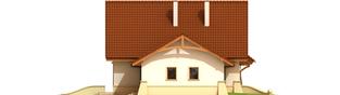 Projekt domu Helka G1 - elewacja lewa