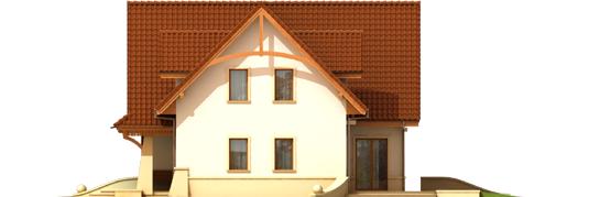 Hely G1 - Projekt domu Helka G1 - elewacja prawa
