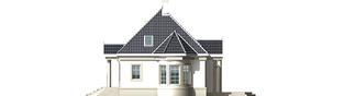 Projekt domu Gloria - elewacja prawa