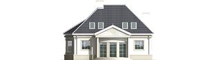 Projekt domu Gloria - elewacja tylna