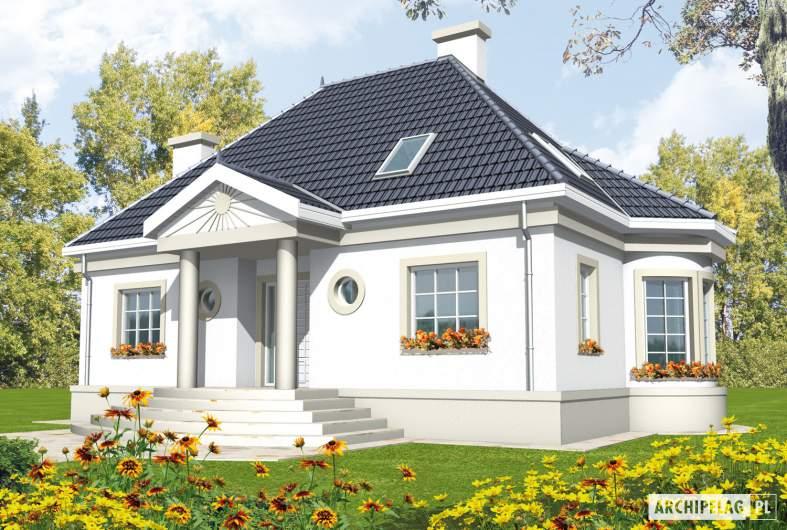 Projekt domu Gloria - wizualizacja frontowa