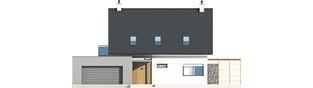 Projekt domu Tobiasz II G2 ENERGO - elewacja frontowa