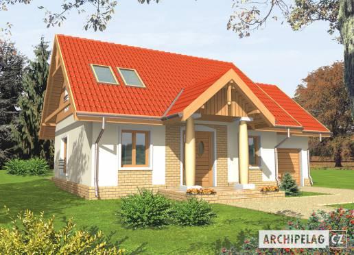 Projekt rodinného domu - Soběslava