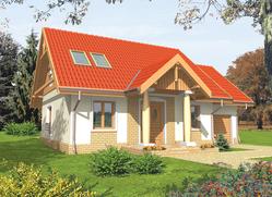 Projekt rodinného domu: Soběslava