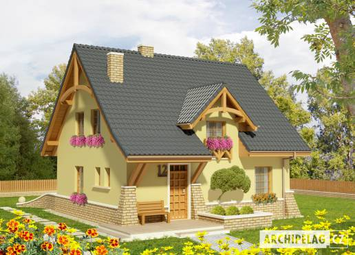 Projekt rodinného domu - Konvalinka