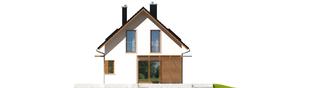Projekt domu Lea (wersja B) - elewacja prawa