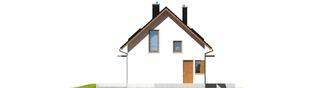 Projekt domu Lea (wersja B) - elewacja lewa
