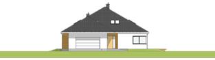 Projekt domu Tanita II G2 01 - elewacja frontowa