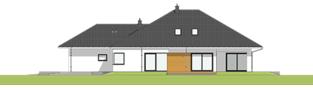 Projekt domu Tanita II G2 01 - elewacja prawa