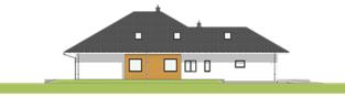 Projekt domu Tanita II G2 01 - elewacja lewa