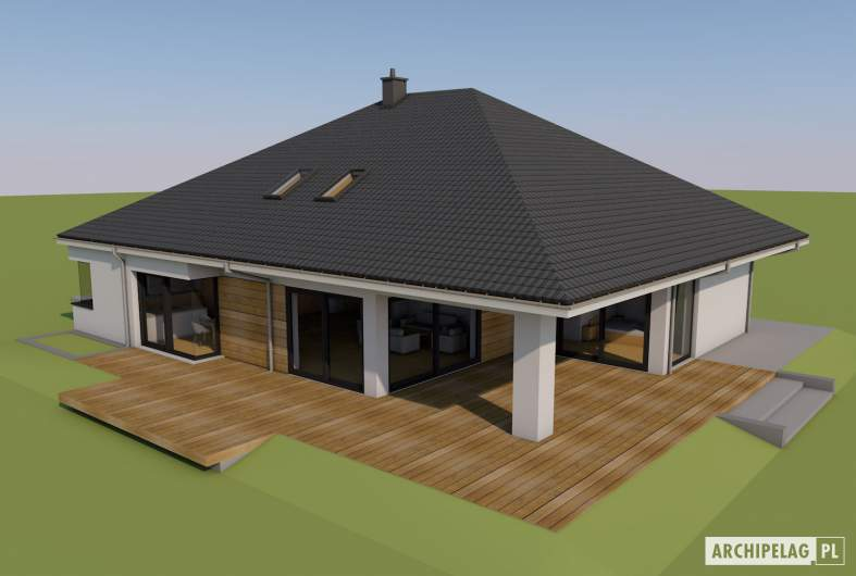Projekt domu Tanita II G2 01 - Tanita II G2 01 - widok z góry