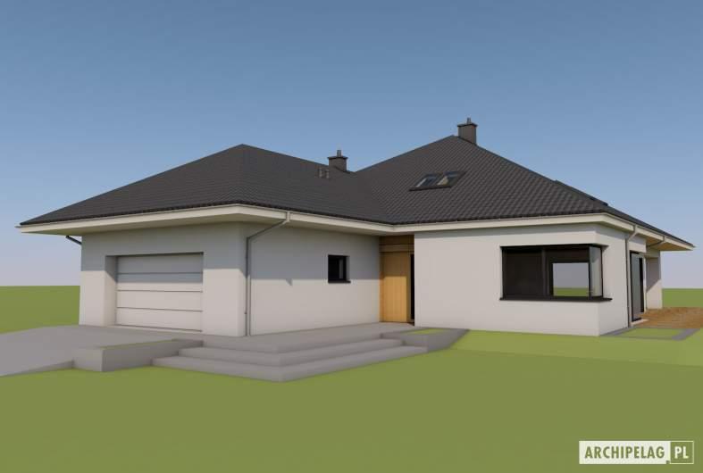 Projekt domu Tanita II G2 01 - Tanita II G2 01 - wizualizacja frontowa