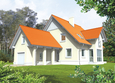 Projekt domu: Lucynka