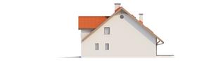 Projekt domu Rozanna III G1 - elewacja prawa