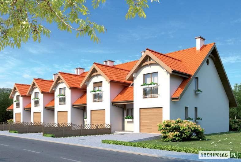 Projekt domu Rozanna III G1 - wizualizacja frontowa