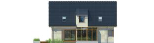 Projekt domu Edit G1 - elewacja lewa