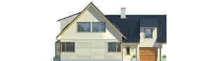 Projekt domu Edit G1 - elewacja frontowa