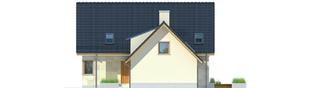 Projekt domu Edit G1 - elewacja prawa
