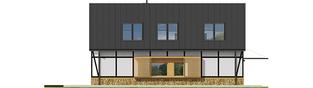 Projekt domu EX 15 ENERGO PLUS - elewacja lewa