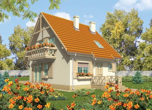 Mājas projekts - Sniezynka I