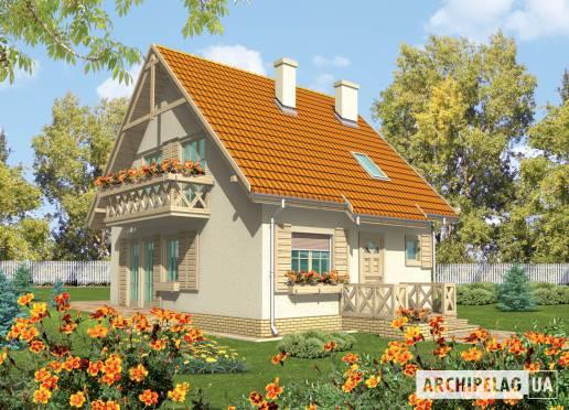 Проект дома - Снежинка