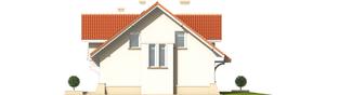 Projekt domu Nadina - elewacja prawa