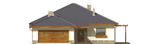 Projekt domu Genowefa G2 - elewacja frontowa