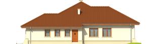 Projekt domu Kornelia II G2 Leca® DOM - elewacja prawa