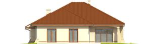 Projekt domu Kornelia II G2 Leca® DOM - elewacja tylna
