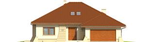 Projekt domu Kornelia II G2 Leca® DOM - elewacja frontowa
