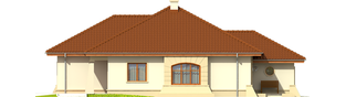 Projekt domu Kornelia II G2 Leca® DOM - elewacja lewa